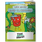 Custom Coloring Book - Wise About Water Conservation