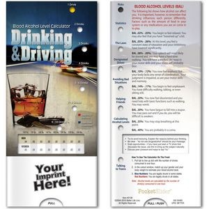 Pocket Sliders™ - Drinking and Driving: Blood Alcohol Level Calculator