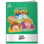 Custom Activity Book w/ Fun Stickers - Dollars and Sense