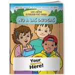 Custom Coloring Book - Smart Kids Say No to Drugs! (Spanish)