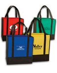 Custom Two Tone Grocery Bag