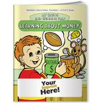 Custom Coloring Book - Learning About Money My Saving and Spending Plan