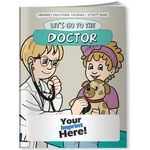 Custom Coloring Book - Let's Go to the Doctor