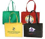 Custom Large Tote Bag - Full Color