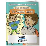 Custom Coloring Book - Meet Buddy Your Healthy Body (Spanish)