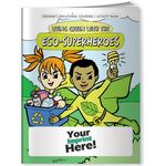 Custom Coloring Book - Living Green with the Eco-Superheroes
