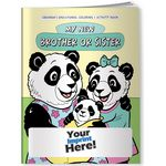 Custom Coloring Book - My New Brother or Sister
