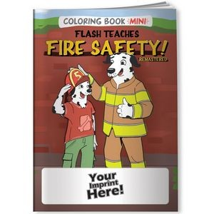 Coloring Book Mini - Flash Teaches Fires Safety (Remastered)