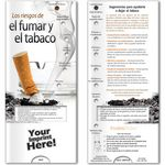 Custom Pocket Slider - Risks of Smoking and Tobacco (Spanish)