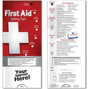Pocket Sliders™ - First Aid: Safety Tips
