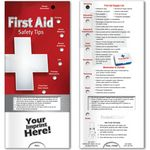Custom Pocket Slider - First Aid Safety Tips