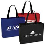 Custom Large Polyester Tote Bag