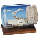 Custom Business Card Sculpture - Eagle