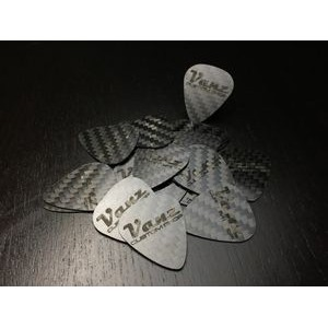 Carbon Fiber Guitar Picks (5 pack) by Common Fibers