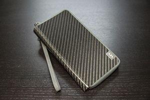Custom Carbon Fiber CLU Women's Clutch Wallet by Common Fibers