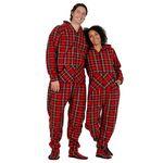 Custom Royal Stewart Footed Pajama
