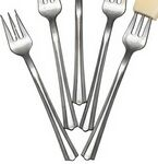 Custom 50 Piece Metalized Finish Appetizer Fork
