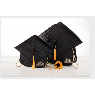 The Quilted Grad Bag - 13