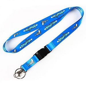 "5/8"" Sublimated Polyester Lanyard"