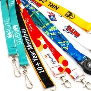 "3/4"" Sublimated Polyester Lanyards"