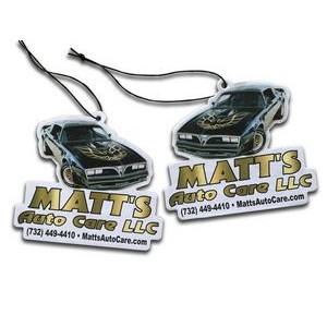Air Freshener Die Cut Full Color