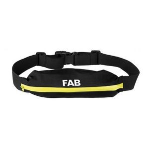 Waterproof Reflective Zipper Waist Bag