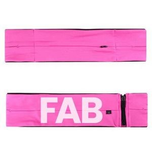 Polyester Sports Waist Belt Bag