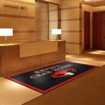 Custom 5'x8' Promotional Logo Rugs Free artwork/setup