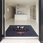 Custom 5' x 8' Custom Indoor & Outdoor Logo floor Rugs Free Setup/Artwork