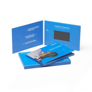 4.0 inch Wide View HD Screen Video Business Card