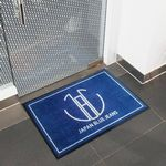 Custom 2' X 3' Custom Indoor & Outdoor Logo Carpet Mat Free Setup/Artwork