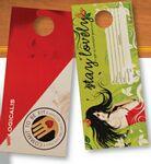 Custom Door Hanger w/Perforated Card (3.5