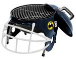 Custom Football Helmet Shaped Charcoal Grill