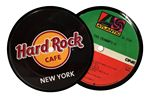 Custom Record Coasters - 1 sided imprint