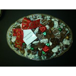Large Chocolate Tray