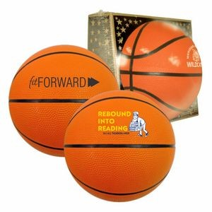 "29½"" Full-Size Rubber Basketball"