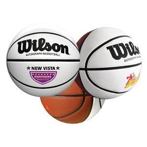 "29½"" Wilson® Full-Size Synthetic Leather Signature Basketball"