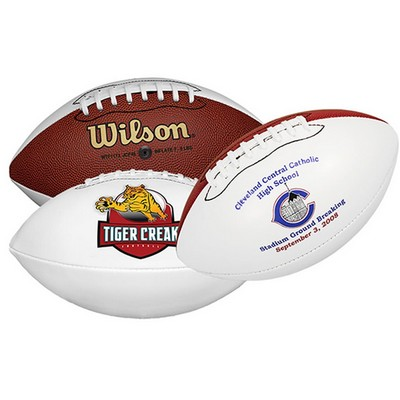 Wilson® Synthetic Leather Full Size Signature Football