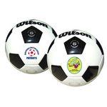 Custom Wilson Premium Synthetic Leather Soccer Ball (Size 5)