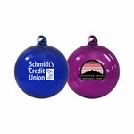 Custom Hand Blown Glass Ornament