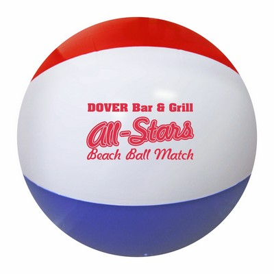 "16"" Red/White/Blue Beach Ball"