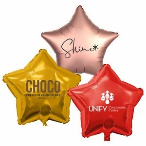 "17"" Star Helium Saver XtraLife® Foil Balloons"
