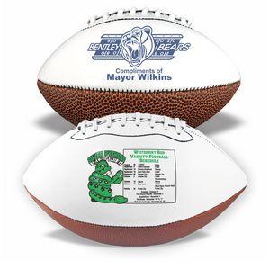 Mini Synthetic Leather Signature Football