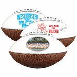 Custom Mid Size Leather Signature Football