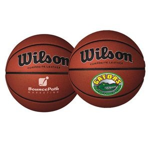 "29½"" Wilson® Full-Size Composite Leather Basketball"