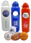Custom 30 Oz. Stress Ball Water Bottle Set
