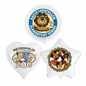 "17"" Low Quantity Full-Color Foil Balloons"
