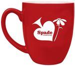 Custom 16oz Red Ceramic Mug