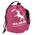 Custom Pet Treat Drawstring Bag