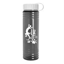 24 oz. Slim Fit Water Sports Bottle - Tethered Lid